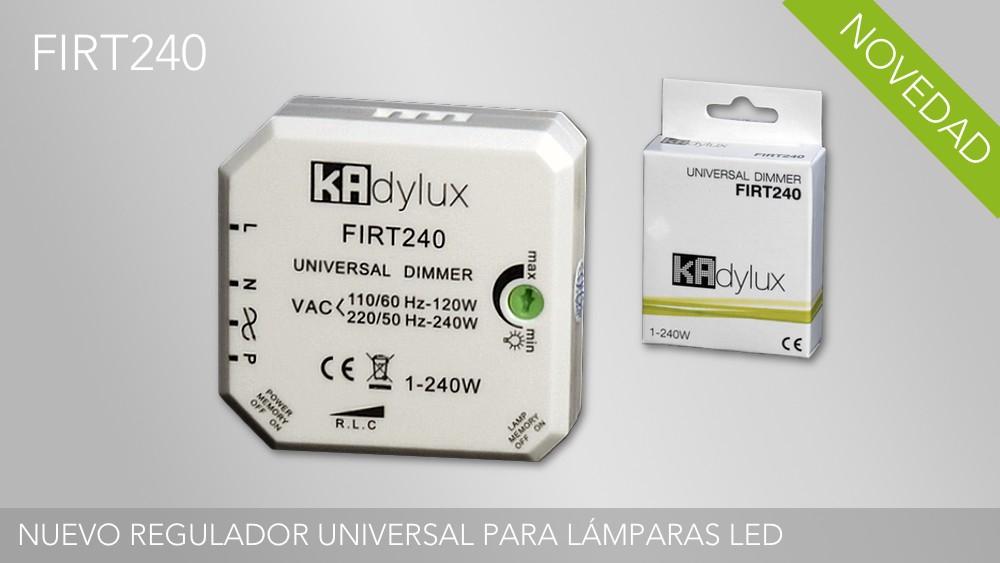 Nuevo regulador universal para lámparas LED