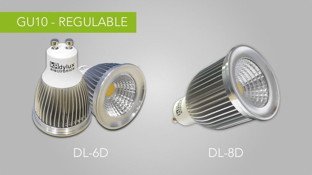 Lámparas DL-6D y DL-8D